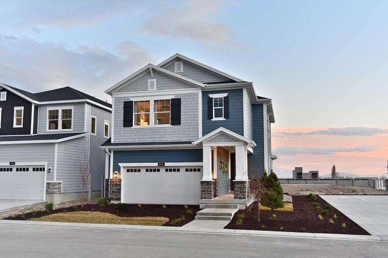 Exterior featured in the Nebo By David Weekley Homes in Provo-Orem, UT