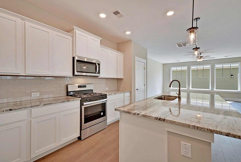 Kitchen featured in the Larston By David Weekley Homes in Charleston, SC