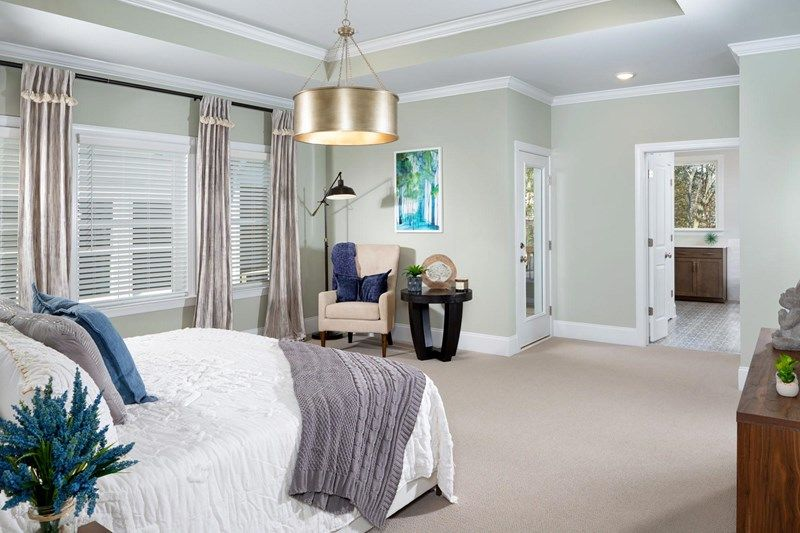 Bedroom featured in the Trinity By David Weekley Homes in Charlotte, NC