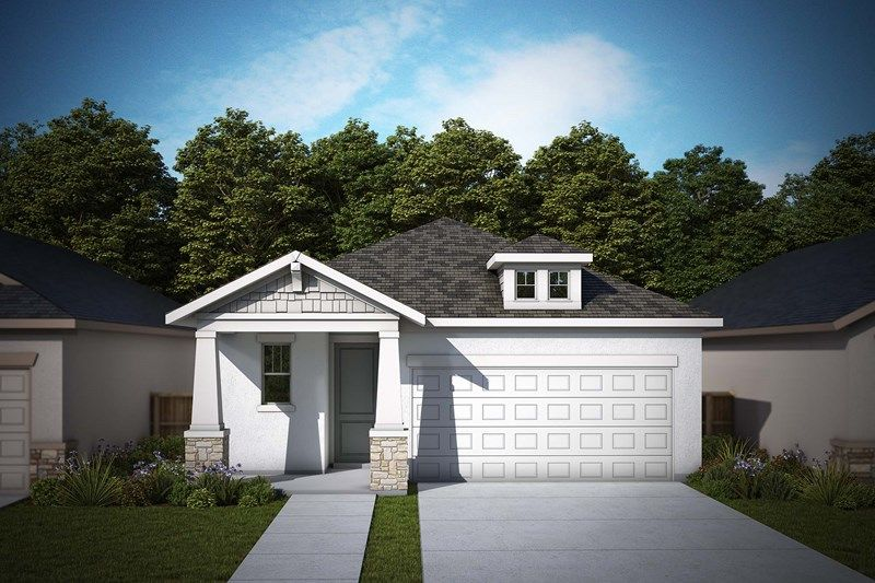 Exterior featured in the Nightingale By David Weekley Homes in Tampa-St. Petersburg, FL