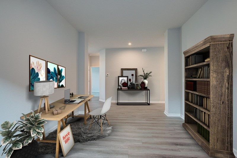 Living Area featured in the Waddle By David Weekley Homes in Sarasota-Bradenton, FL
