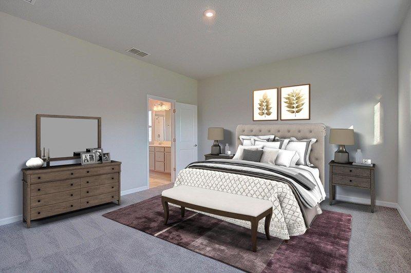 Bedroom featured in the Waddle By David Weekley Homes in Sarasota-Bradenton, FL