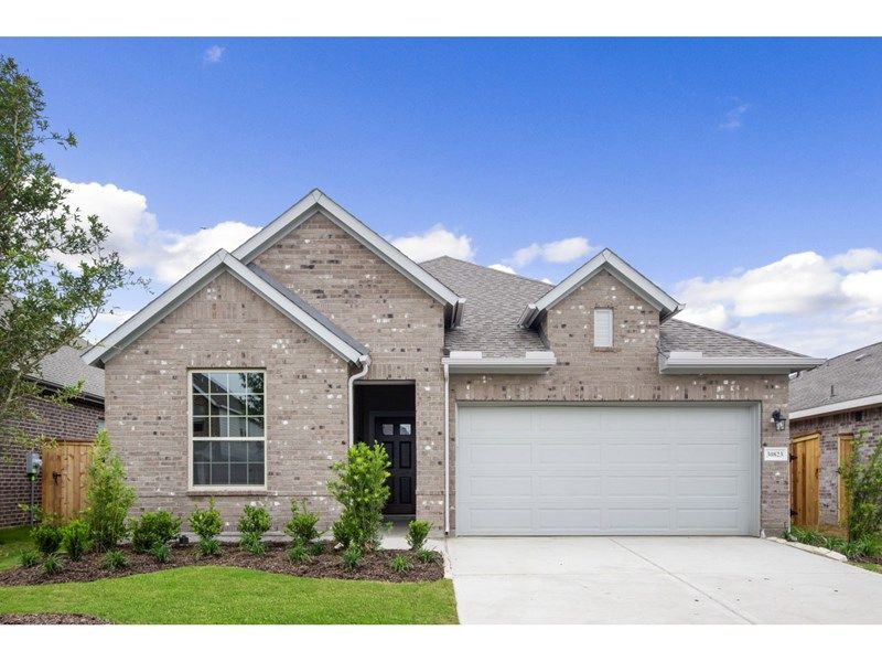 Exterior featured in the Penmark By David Weekley Homes in Houston, TX