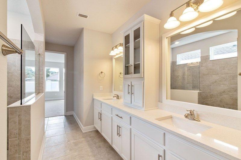 Bathroom featured in the Caribou By David Weekley Homes in Sarasota-Bradenton, FL