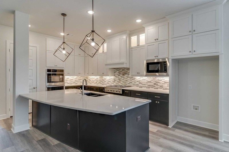 Kitchen featured in the Chasewood By David Weekley Homes in Fort Worth, TX