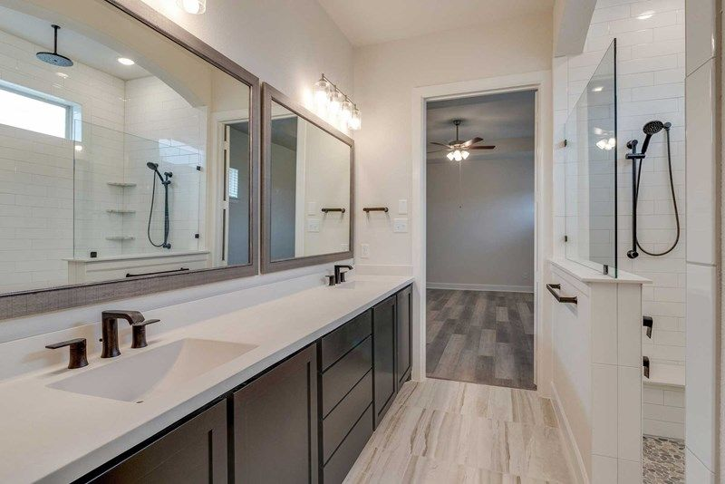 Bathroom featured in the Chasewood By David Weekley Homes in Fort Worth, TX