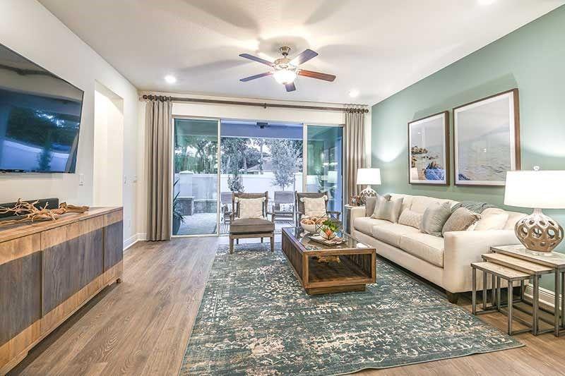 Living Area featured in the Gemstone By David Weekley Homes in Sarasota-Bradenton, FL