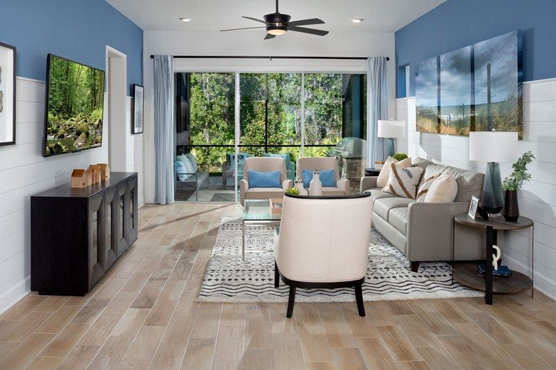 Living Area featured in the Haden By David Weekley Homes in Jacksonville-St. Augustine, FL