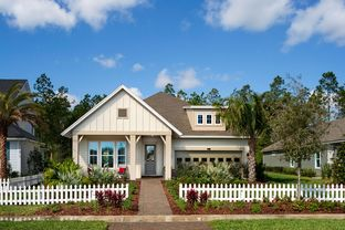 Irondale - Settler's Landing at Nocatee 50': Ponte Vedra, Florida - David Weekley Homes