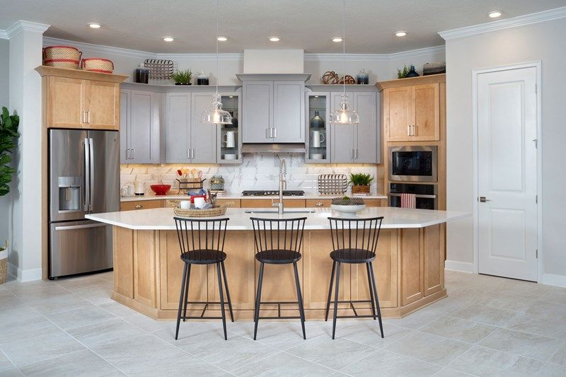 Kitchen featured in the Irondale By David Weekley Homes in Jacksonville-St. Augustine, FL