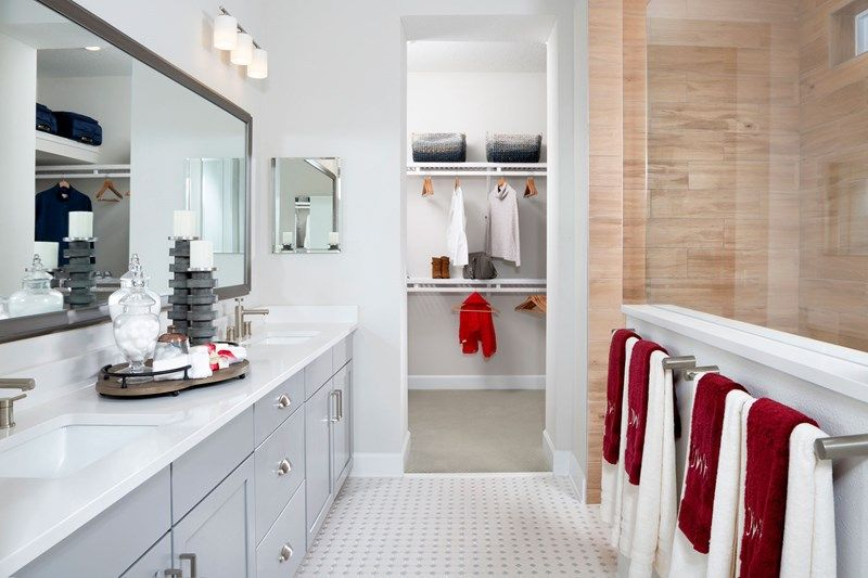Bathroom featured in the Irondale By David Weekley Homes in Jacksonville-St. Augustine, FL