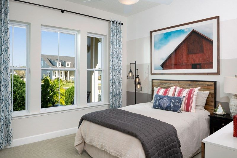 Bedroom featured in the Irondale By David Weekley Homes in Jacksonville-St. Augustine, FL