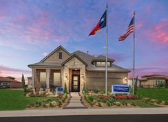 Hennington - Campanas at Cibolo Canyons: San Antonio, Texas - David Weekley Homes