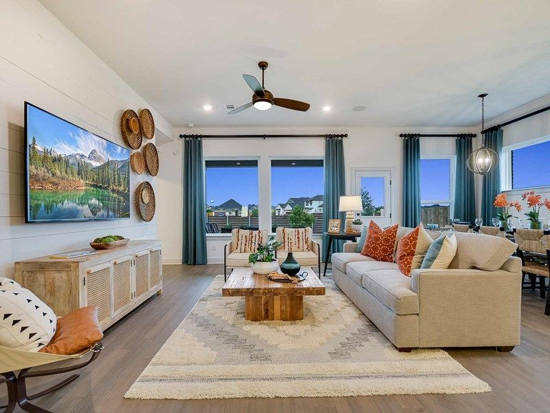 Living Area featured in the Stratton By David Weekley Homes in Austin, TX