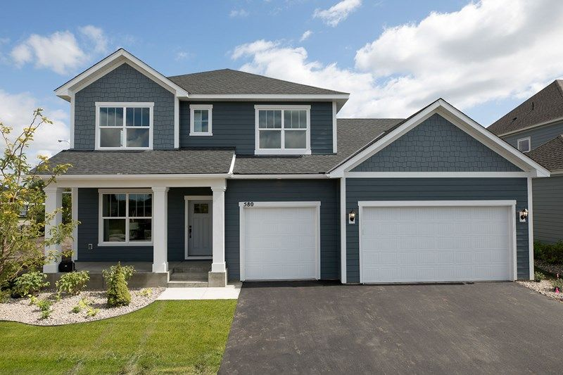 Exterior featured in the Michigan By David Weekley Homes in Minneapolis-St. Paul, MN