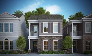 Gramercy West 28' Cottages by David Weekley Homes in Indianapolis Indiana