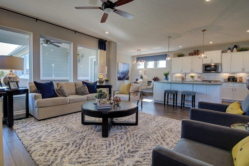 'The Residences at Lawrence Village at the Fort' by David Weekley Homes in Indianapolis