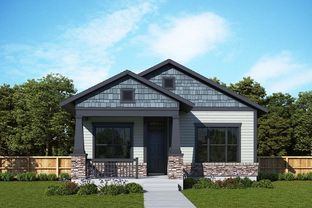 Caruthers - Painted Prairie: Aurora, Colorado - David Weekley Homes