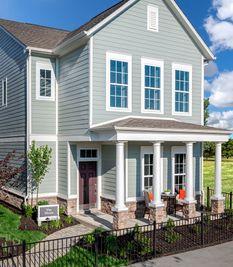 Hosta - Gramercy West 28' Cottages: Carmel, Indiana - David Weekley Homes