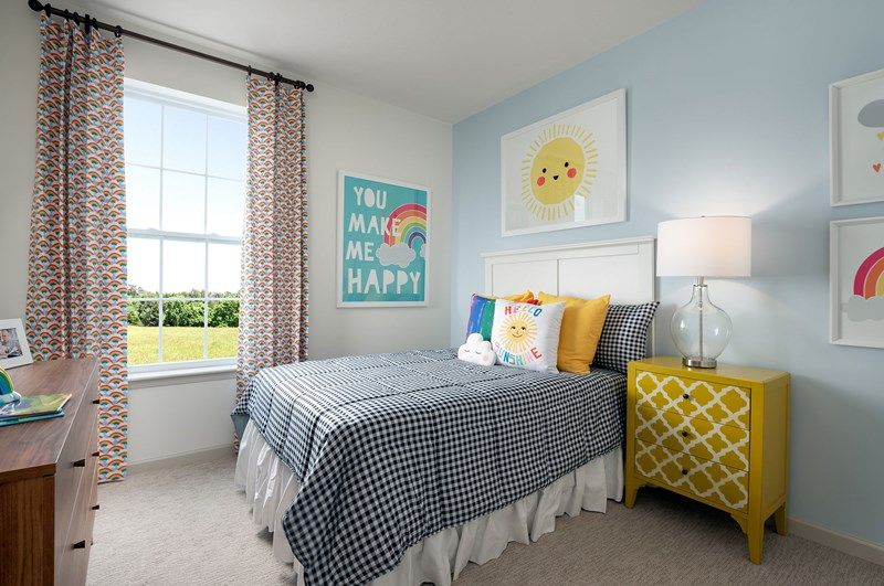 Bedroom featured in the Hosta By David Weekley Homes in Indianapolis, IN