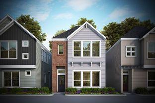 Braeburn - Dominion at Garden Oaks - City Homes: Houston, Texas - David Weekley Homes