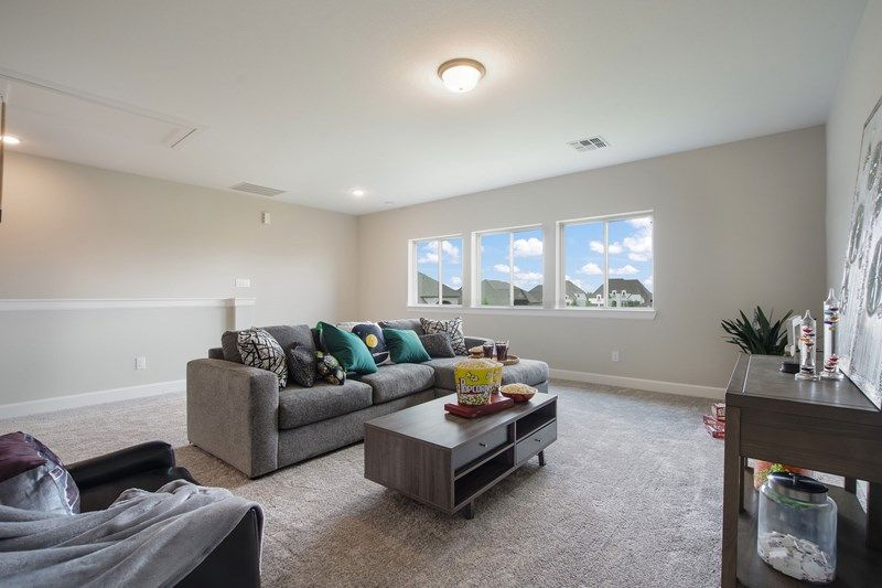 Living Area featured in the Aubergine By David Weekley Homes in Houston, TX