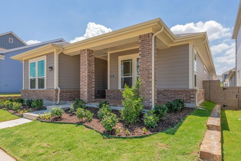 Exterior featured in the Ashbridge By David Weekley Homes in Fort Worth, TX