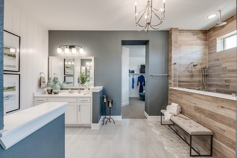 Bathroom featured in the Harvard By David Weekley Homes in Houston, TX