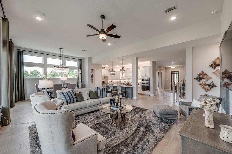 Living Area featured in the Harvard By David Weekley Homes in Houston, TX