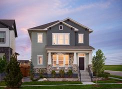 Washburn - Painted Prairie: Aurora, Colorado - David Weekley Homes