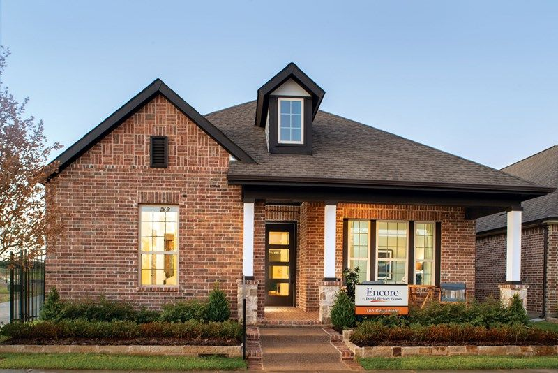 Exterior featured in the Ridgemont By David Weekley Homes in Fort Worth, TX