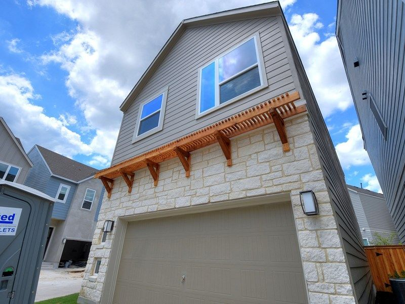 Exterior featured in the Northaven Terrace By David Weekley Homes in San Antonio, TX
