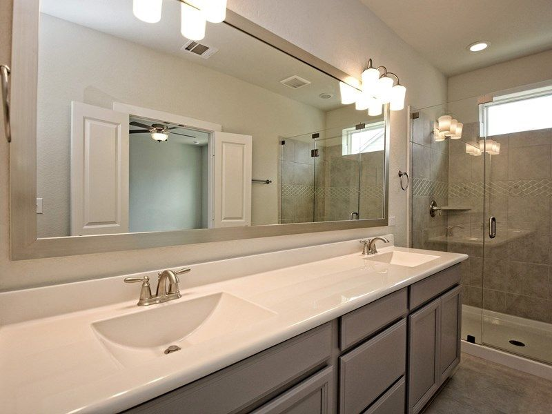 Bathroom featured in the Northaven Terrace By David Weekley Homes in San Antonio, TX