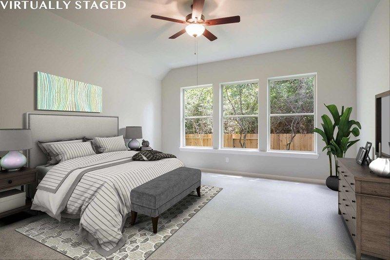 Bedroom featured in the Baileywood By David Weekley Homes in Houston, TX