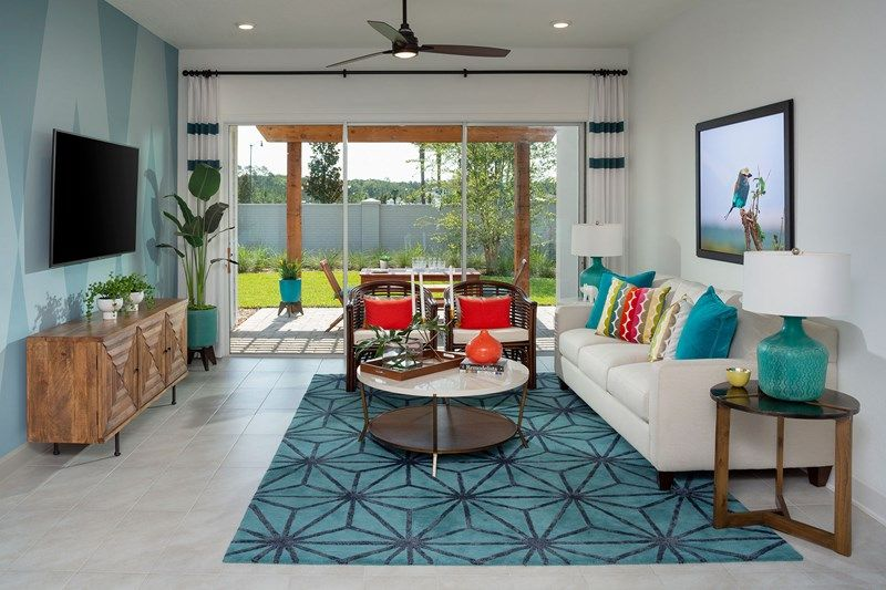 Living Area featured in the Riverknoll By David Weekley Homes in Jacksonville-St. Augustine, FL
