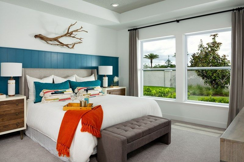 Bedroom featured in the Riverknoll By David Weekley Homes in Jacksonville-St. Augustine, FL