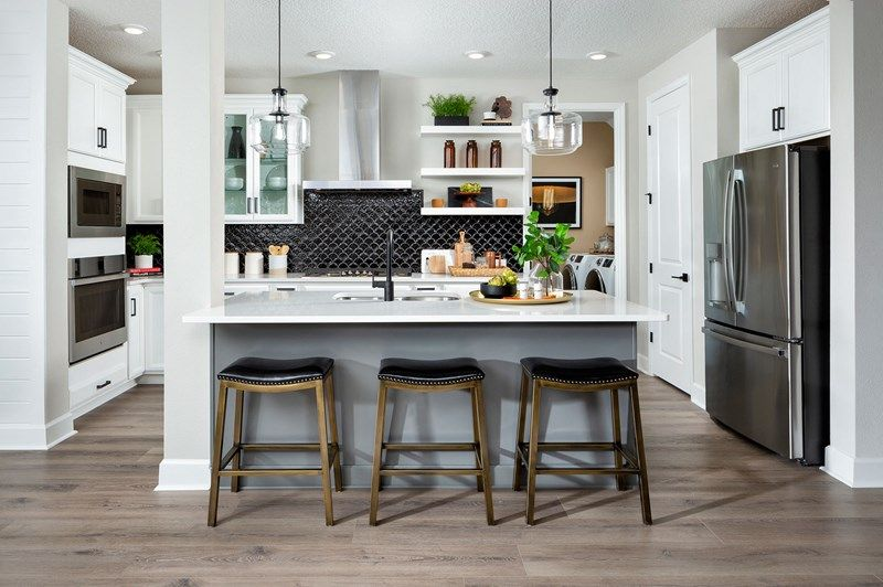 Kitchen featured in the Mcclenaghan By David Weekley Homes in Jacksonville-St. Augustine, FL
