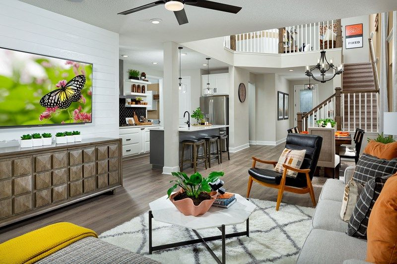 Living Area featured in the Mcclenaghan By David Weekley Homes in Jacksonville-St. Augustine, FL