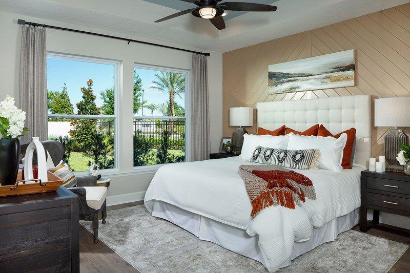 Bedroom featured in the Mcclenaghan By David Weekley Homes in Jacksonville-St. Augustine, FL