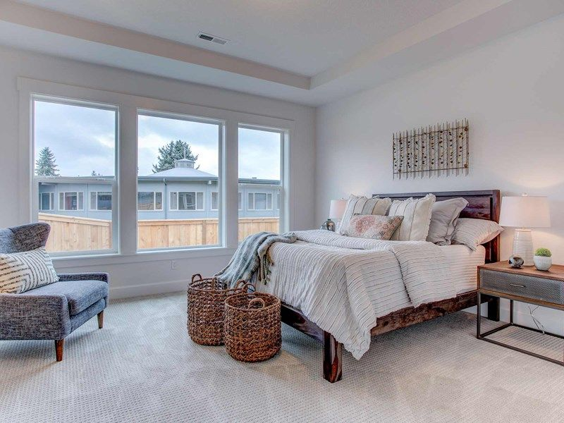 Bedroom featured in the Taggart By David Weekley Homes in Portland-Vancouver, WA