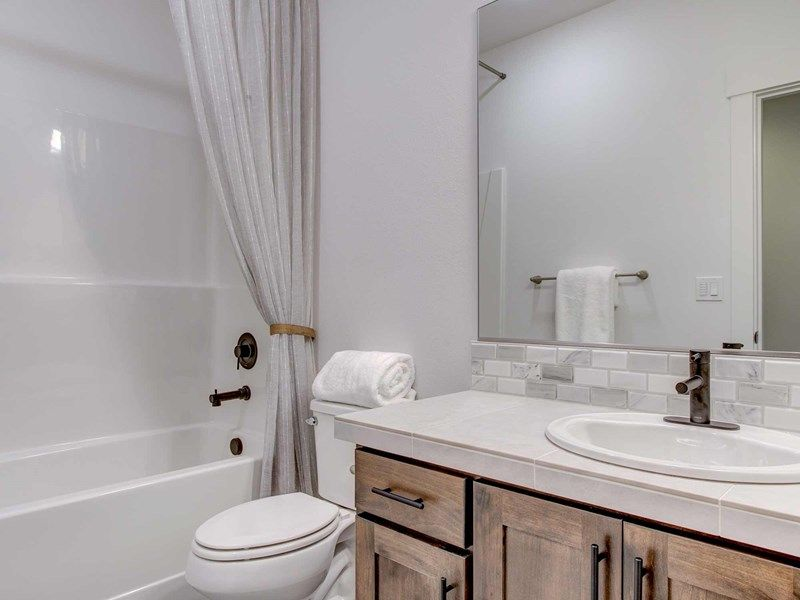 Bathroom featured in the Taggart By David Weekley Homes in Portland-Vancouver, WA