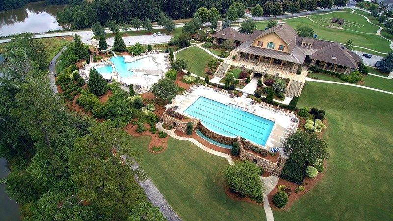 'The Retreat at Sterling on the Lake 58'' by David Weekley Homes in Atlanta