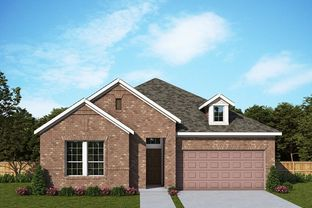 Beachton - Gateway Parks Cottages: Forney, Texas - David Weekley Homes