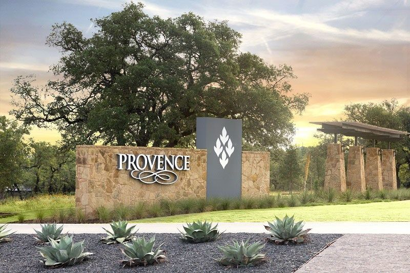 'Provence 60'' by David Weekley Homes in Austin