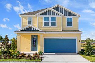 Kingsbridge - Waterset Garden Series: Apollo Beach, Florida - David Weekley Homes