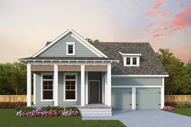 Exterior featured in the Ridgeview By David Weekley Homes in Charleston, SC