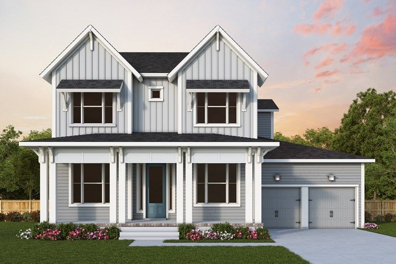 Exterior featured in the Keaton By David Weekley Homes in Charleston, SC