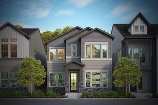 Bates - Baseline 33' - The Peaks Collection: Broomfield, Colorado - David Weekley Homes