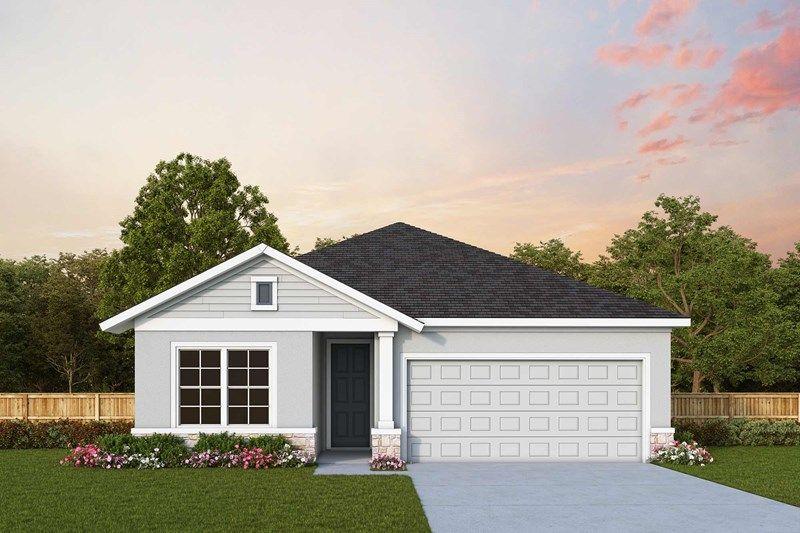 Exterior featured in the Crestview By David Weekley Homes in Sarasota-Bradenton, FL