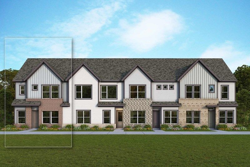 Exterior featured in the Meadowlark By David Weekley Homes in Charlotte, NC